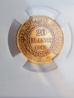 20 Francs or 1848A Génie, IIe RÉPUBLIQUE