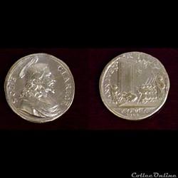 médaille du XVIII ème  tout début
