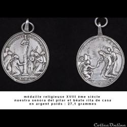 médaille du XVIII ème de notre dame du p...