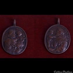 médaille du XVIII ème saint joseph