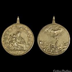 médaille sainte marie du carmel  XVIII (...