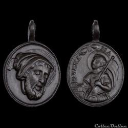 médaille du XVIII ème saint anastase