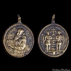 médaille religieuse de saint lorenzo de ...