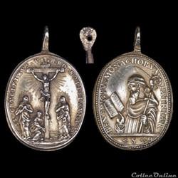 médaille XVIII signée HAMERANI