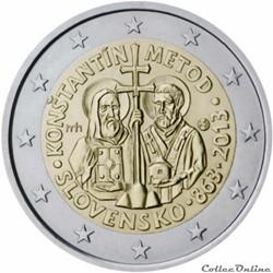 2 euro - Slovaquie 2013