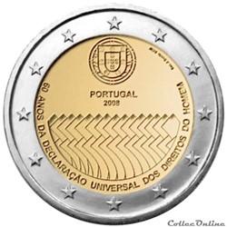 2 euro - Portugal 2008
