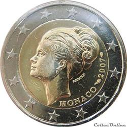 2 euro - Monaco 2007