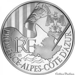 10 euros Provence-Alpes-Cote d'Azur 2010