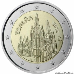 2 euro - Espagne 2012