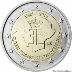 2 euro - Belgique 2012
