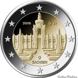 2 euro - Allemagne 2016