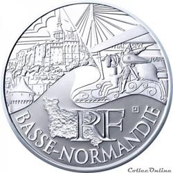 10 euros Basse-Normandie 2011