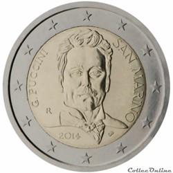 2 euro - Saint-Marin 2014