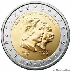 2 euro - Luxembourg 2005