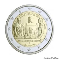 2 euro - Italie 2018