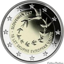 2 euro - Slovénie 2017
