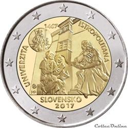2 euro - Slovaquie 2017