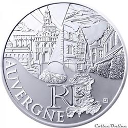 10 euros Auvergne 2011
