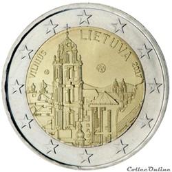 2 euro - Lituanie 2017