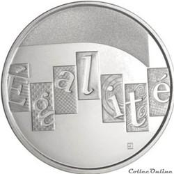 5 euros Egalité 2013