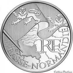10 euros Basse-Normandie 2010