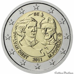 2 euro - Belgique 2011