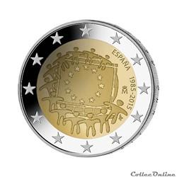 2 euro - Espagne 2015