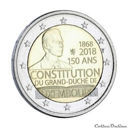 2 euro - Luxembourg 2018