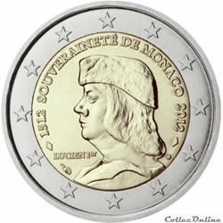 2 euro - Monaco 2012
