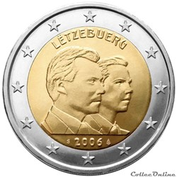 2 euro - Luxembourg 2006