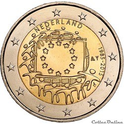 2 euro - Pays-Bas 2015