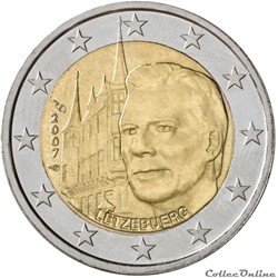 2 euro - Luxembourg 2007