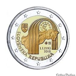 2 euro - Slovaquie 2018