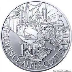 10 euros Provence-Alpes-Cote d'Azur 2011