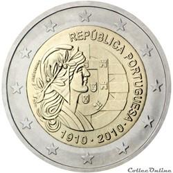 2 euro - Portugal 2010