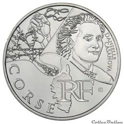 10 euros Corse 2012