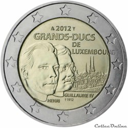 2 euro - Luxembourg 2012