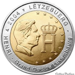 2 euro - Luxembourg 2004