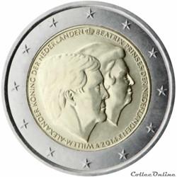 2 euro - Pays-Bas 2014