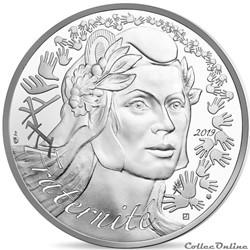 20 euros Marianne-Fraternité 2019