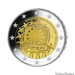 2 euro - Allemagne 2015