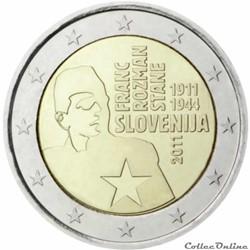 2 euro Slovénie 2011