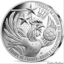 """10 euros """"La France Championne du Monde ..."""