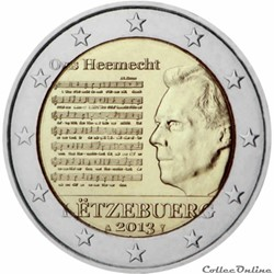 2 euro - Luxembourg 2013