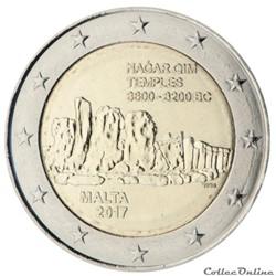 2 euro - Malte 2017