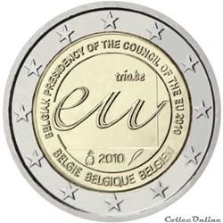 2 euro - Belgique 2010