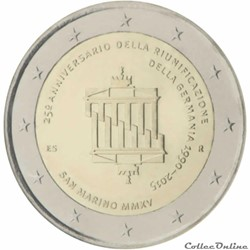 2 euro - Saint-Marin 2015