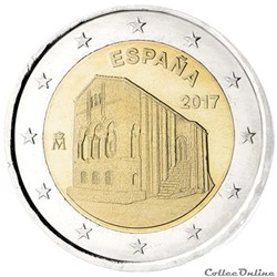 2 euro - Espagne 2017