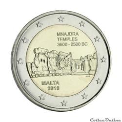 2 euro - Malte 2018