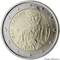 2 euro - Saint Marin 2007